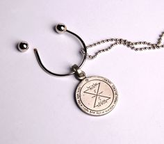 Israeli jewelry Matching King Solomon seal #keyholder