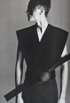 Tiago Gass, photographed by Richard Avedon, for DIOR HOMME by Hedi Slimane S/S 2002.