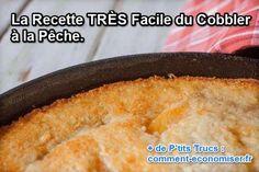 Si vous êtes amateur de pêches, voici la recette facile que vous devez connaître. Il s'agit du cobbler. C'est un dessert anglais délicieux. À l'œil, ça ressemble beaucoup à du crumble. La seule différence est dans la composition de la pâte.  Découvrez l'astuce ici : http://www.comment-economiser.fr/recette-cobbler-a-la-peche.html?utm_content=buffer9fece&utm_medium=social&utm_source=pinterest.com&utm_campaign=buffer