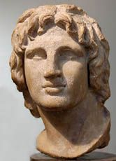 Die griechische Kultur dominierte nach den Eroberungen Alexanders des Großen in Syrien, Ägypten und Makedonien.