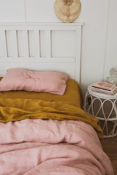 Treat your self with our stonewashed French linen bedding. So soft you won't want to leave bed. Treat your self with our stonewashed French linen bedding. So soft you won't want to leave bed. Classic Home Decor, Cute Home Decor, Retro Home Decor, Home Decor Kitchen, Home Decor Bedroom, Cheap Home Decor, Minimalist Home Interior, Home Interior Design, Western Style