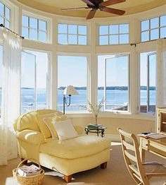 Preparing Your Home for Sale: If you have beautiful or interesting views from your windows, don't block them. Show them off!
