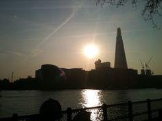 London skyline..