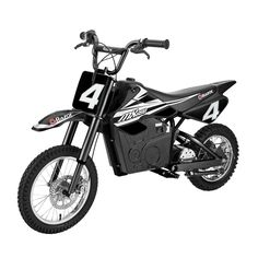 Razor 17 MPH Steel Electric Dirt Rocket Motor Bike for Teens Black at Lowe's. Tear up the track just like a real Supercross rider with the Razor Electric Dirt Rocket Kids Motor Bike! It might be for kids, but this bike packs a Motorcycle Dirt Bike, Motocross Bikes, Pit Bike, Dirt Biking, Bmx, Electric Dirt Bike, Electric Motor, Electric Scooter, Rocket Motor