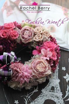 Fuchsia Wreath【Diploma course】|Rachel Berry the Secret Attic