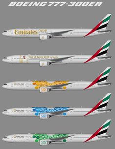 Cargo Aircraft, Boeing Aircraft, Boeing 777 300 Seating, Airplane Wallpaper, Emirates Airline, Airplane Photography, Aviation Industry, Commercial Aircraft, Model Airplanes