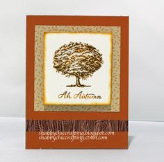 CTMH Autumn Themed card