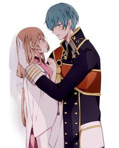 埋め込み Cute Anime Guys, Anime Love, Romantic Couples, Cute Couples, Manga Art, Anime Manga, Mikuo, Shall We Date, Couple Art