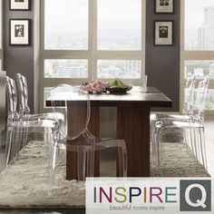 INSPIRE Q Malden Chrome Inset Dining Table | Overstock.com Shopping - Great Deals on INSPIRE Q Dining Tables