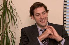 "27 Of The Cutest Jim And Pam Moments From ""The Office"" Pam The Office, Best Of The Office, The Office Show, Jim Halpert, Office Memes, John Krasinski, Michael Scott, Parks N Rec, See On Tv"