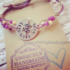 Nurse Bracelet - great for layering/stacking or alone. Personalized, Hand-Stamped Jewelry on Etsy, $21.00