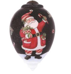 Ne'Qwa Hand-Painted Christmas Tree Ornaments l Christmas Central
