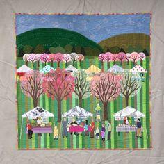Cookseyville: art quilt