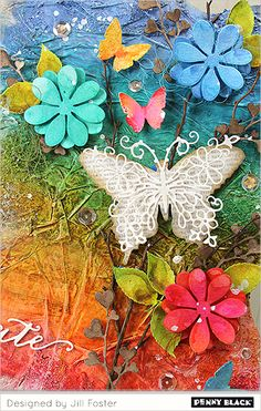 No cards in sight today… it's time for Fun Fridays: Anything But a Card! You can bet the Jill's fingers are inky once you see what she's created for us today… Download complete supplies and instruc…