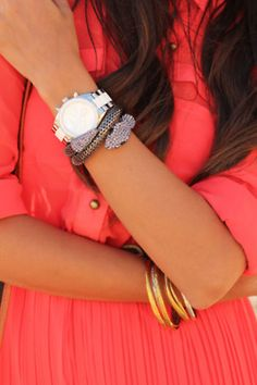 #Coral and #ArmParty accessories #yes #yes #yes