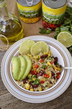 Quinoa, Cobb Salad, Avocado, Food And Drink, Health, Sweets, Diet, Fine Dining, Bebe