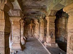 Badami caves architechture - Google Search