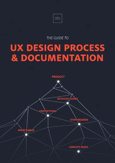 Guide to UX Design Process & Documentation [UX Pin] The Guide to UX Design Process & Documentation A Master Collection Of Frameworks, Examples, And Expert Opinions At Every Stage. The process and byproducts of building great products quickly and thorou Info Board, Interaktives Design, Cover Design, Web Design Tutorial, It Management, Project Management, Web Design Quotes, User Experience Design, Customer Experience