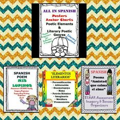 Marvelous Spanish Poetry Resources and much more...@https://teacherspayteachers.com/Store/Bilingual-biliterate-Learning