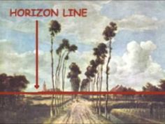 1 point perspective video using works of art. Good explanation of vertical, horizontal and orthgonal lines. Music: Journey
