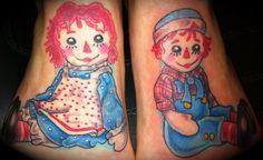 raggedy ann tattoo - Google Search