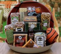 BASKETBALL GAME DAY SNACKS GIFT BOWL  Free Shipping    http://www.labellabaskets.com/Qstore.cgi?AID=5286