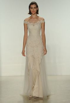 10 Romantic Off The Shoulder Wedding Dresses | Bridal Musings Wedding Blog 6