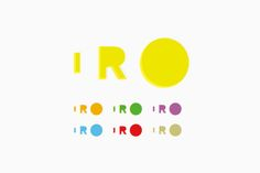 IRO 2012 , graphic identity interior logo  _detail credit 空間設計: Reiichi Ikeda Design - photo: Yoshiro Masuda