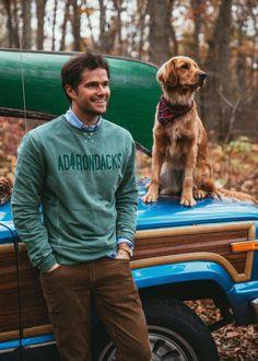 Adirondacks sweatshirt.