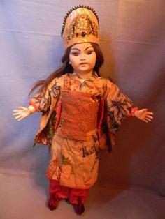 Pretty Antique Simon Halbig Oriental Mold 1199 Wig Pulls | eBay