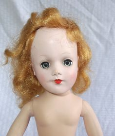 1950's Vintage Cindy Lou Doll Mary Hoyer Mold by MyVintageHatShop