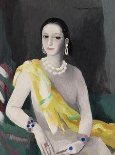Helena Rubinstein by Marie Laurencin, 1934