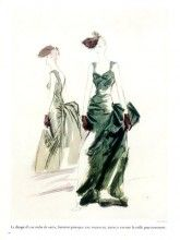 Molyneux 1937 Evening Gown Eric