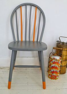 How to Make Over Your Dining Chairs with Washi Tape | Washi tape ...