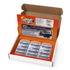 Gillette Fusion Manual Men's Razor Blade Refills 12 Count