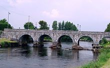 The River Moy at Foxford -