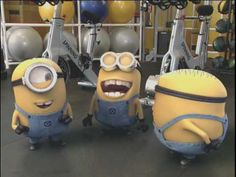 "Despicable Me - Minions on ""The Biggest Loser"" THIS IS SOOO FUCKING FUNNY! HAHAHAAHA I LOVE MINIONS ♥ #minions #despicableme2"