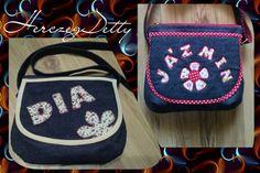 """""""DIA"""" Névre szóló """"kistáska"""" nem csak Diának! :) Applikálással teszem egyedivé, hogy az legyen a táskán, amit szeretnél!"""