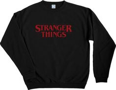 Stranger Things Pins, Stranger Things Merchandise, Stranger Things Have Happened, Stranger Things Netflix, Starnger Things, Look Cool, Cute Shirts, School Outfits, Hoodies