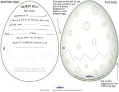 Printable Dinosaur Egg Invitations Coolest Free Printables