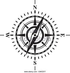 compass-with-wind-rose-emcd77.jpg (520×540)