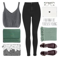 """""""youth"""" by mara-xx ❤ liked on Polyvore featuring Topshop, Capulet London, H&M, Casetify and Surya"""