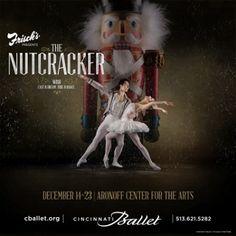 Frisch's Presents: The Nutcracker at the Cincinnati Ballet.  December 14-23