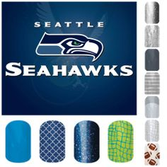 Support your favorite school or team on your nails! #nailart #manicure #nails Danielle Cavanaugh, Independent Jamberry Nail Consultant www.daniellecavanaugh.jamberrynails.net