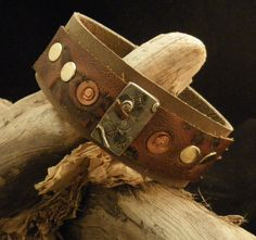Lazy Day Leather Cuff   https://www.etsy.com/shop/ArtisticRite