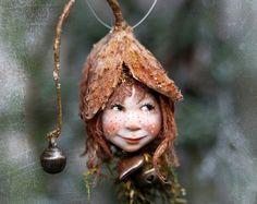 Decoración hecha a mano de Pixiegirl Heide Zapfenkind