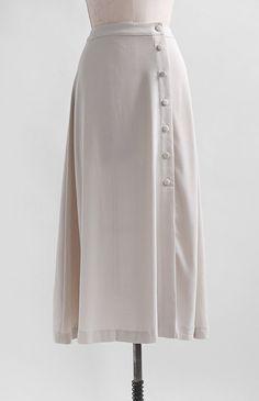 Marceline Skirt - Vintage Inspired Skirt / Feminine Button Down Maxi Skirt / Marceline Skirt – Adored Vintage Source by kelseylunaxo - Skirt Outfits, Cute Outfits, Modest Fashion, Fashion Dresses, Feminine Fashion, Mode Gossip Girl, Vintage Outfits, Vintage Wardrobe, Mode Hijab