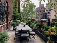 Stunning roof top garden...nothing less than perfect