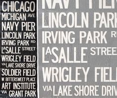 What about places I've been and love?  I want some subway art for my living room.