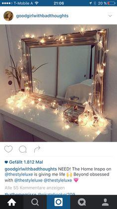 schlafzimmer wohnzimmer dekoration make up tabellen waschtische glasbehlter mit deckel ikea eitelkeit dekorative wandspiegel lichterketten - Makeup Eitelkeit Beleuchtung Ikea